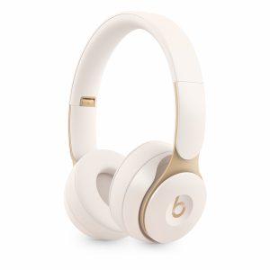 Beats Solo Pro Wireless Noise Cancelling Headphones - Ivory-0